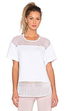 adidas by Stella McCartney Mesh Tee in White