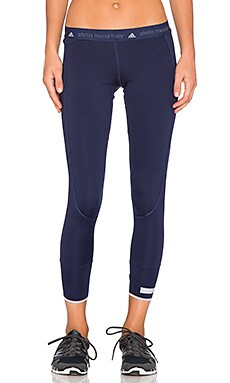 adidas by Stella McCartney The 7/8 Tight in Ink Navy