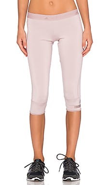 adidas by Stella McCartney 3/4 Tight in Dusty Rose