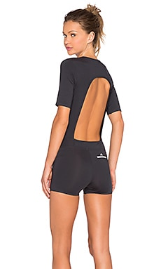 adidas by Stella McCartney Studio Onesie in Carbon