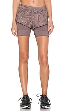 adidas by Stella McCartney ClimaStorm Run Short in Cement Grey