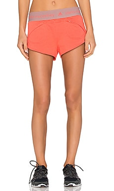 adidas by Stella McCartney Essentials Short in Hot Coral
