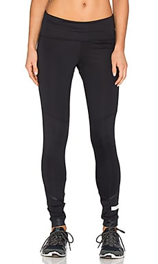 adidas by Stella McCartney The Performance Fold Over Legging in Black