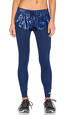 adidas by Stella McCartney The Short Over Tight in Dark Blue