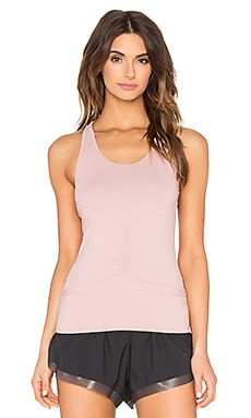 adidas by Stella McCartney Studio Clima Tank in Pale Salmon