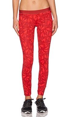 adidas by Stella McCartney Legging in Scarlet Red & Runner Red