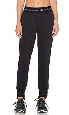 adidas by Stella McCartney Essential Sweatpant in Black