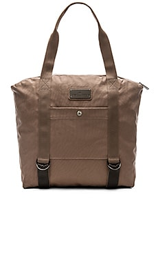 adidas by Stella McCartney Yoga Bag in Natural Grey & Raven