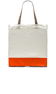 adidas by Stella McCartney Yoga Tote in Greige & Firethorn