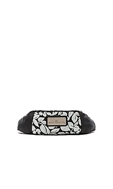 adidas by Stella McCartney Run Bum Bag in in Black & Reflective Silver