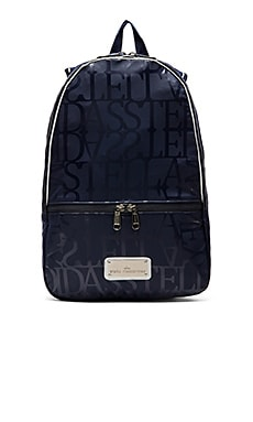 adidas by Stella McCartney Backpack in Ink Navy & Blue Grey