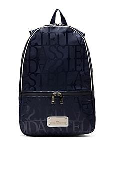 adidas by Stella McCartney Backpack in Ink Navy & Blue Grey