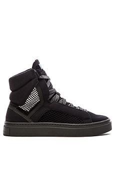 adidas by Stella McCartney Mid Cut Hi Top Sneaker in Black & Raven