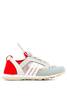 adidas by Stella McCartney Eulampis 2 Sneaker in Eggshell & Box Red