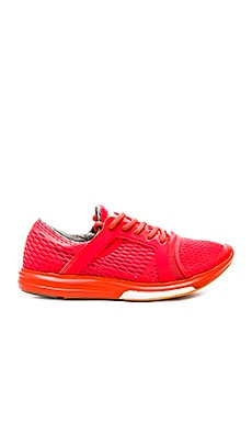 adidas by Stella McCartney CC Sonic Running Shoe in Solar Red & Hot Coral