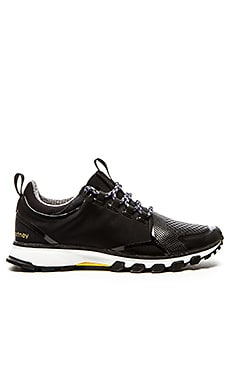 adidas by Stella McCartney Adizero XT Running Shoe in Black & Yellow