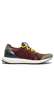 adidas by Stella McCartney Ultra Boost Running Show in Dark Wine & Pomegranate & Flight Blue