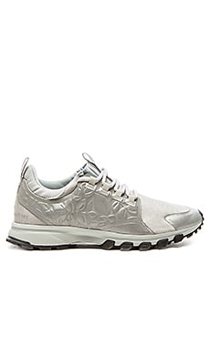 adidas by Stella McCartney Adizero XT Running Shoe in Reflective Silver & Silver & Eggshell