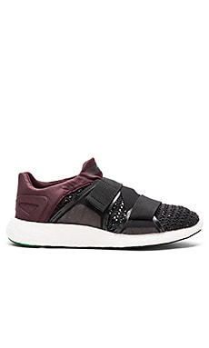 adidas by Stella McCartney Pure Boost Sneaker in Pomegranate, Mystery & New Green