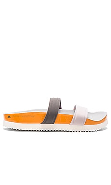 adidas by Stella McCartney Diadophis Sandal in Seed Pearl, Granite & Chalk White