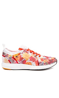 adidas by Stella McCartney CC Sonic Sneaker in White, Granite & Radiant Gold