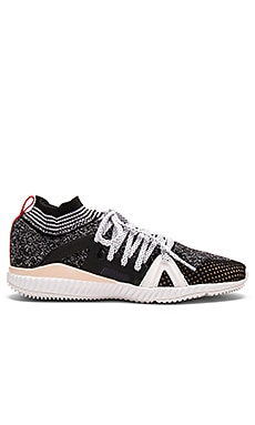 adidas by Stella McCartney Edge Trainer in Grey & White & Red