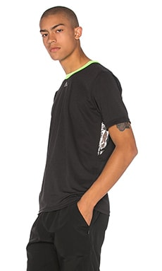 x KOLOR CLMCH Tee in Black & Solar Green & Black
