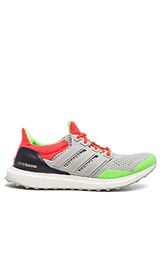 Adidas x KOLOR Ultra Boost in Light Grey Solar Orange Dark Blue
