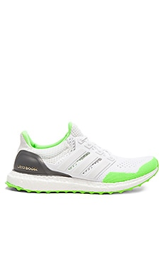 Adidas x KOLOR Ultra Boost in White Solar Green Gold Met