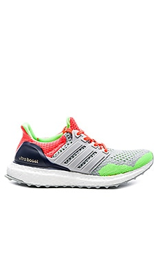 Adidas Ultra Boost KOLOR Sneaker in Light Grey & Solar Orange & Dark Blue