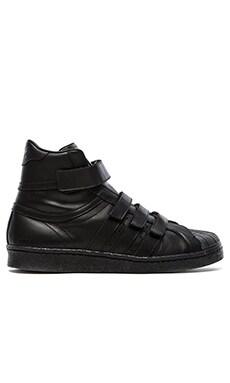 adidas by JUUN J Promodel 80s Hi JJ in Black Black Black