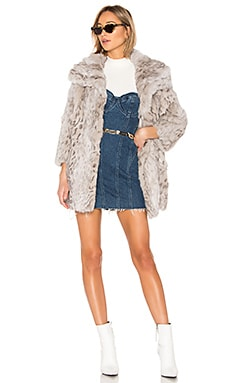 Rabbit Coat Adrienne Landau $272