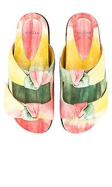 Clarita Slide Tie Dye Alexandre Birman $395