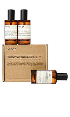 States of Being Aromatique Room Spray Trio Aesop $110