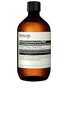 RECHARGE NETTOYANT MAINS REVERANCE AROMATIQUE Aesop $38 BEST SELLER