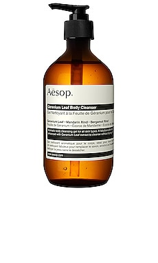 Geranium Leaf Body Cleanser Aesop $45 BEST SELLER