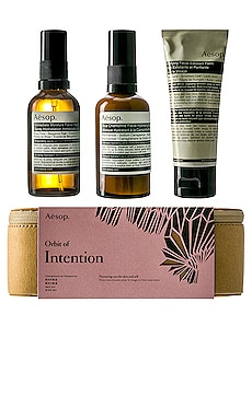 KIT SOIN DU VISAGE ORBIT OF INTENTION Aesop $115
