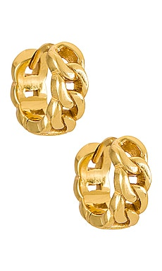 Arya Huggie Earrings Arms Of Eve $75