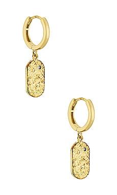 Mendoza Huggie Earrings Arms Of Eve $51