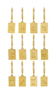 Zodiac Earrings Arms Of Eve $54