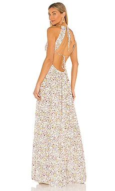 Vail Halter Maxi Dress AFRM $148