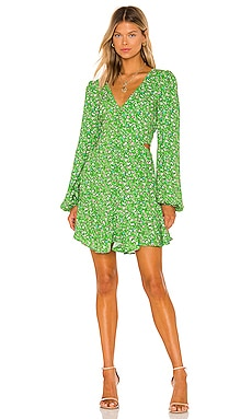 x REVOLVE Monna Dress AFRM $128 NEW