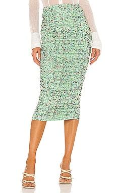 Venice Midi Skirt AFRM $68 NEW