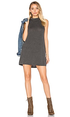 Slay Sleeveless Dress in Gunmetal