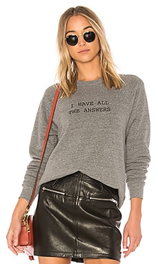 I Have All The Answers College Sweatshirt A Fine Line $88