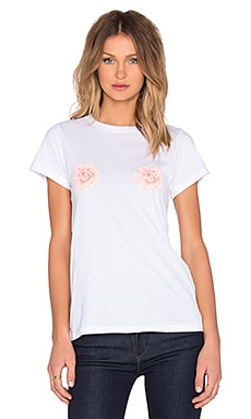 T-SHIRT PEEKING ROSES HASTINGS