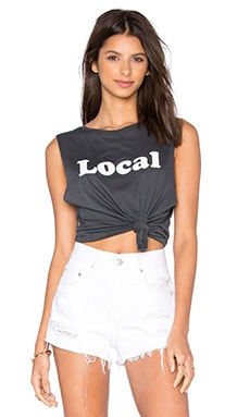 Abby Local Tank in Washed Black