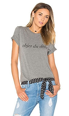 Object Du Desir Nikki Tee in Heather