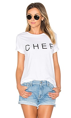 Chef Hastings Tee in White