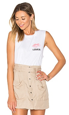 Lover Abby Tank in White